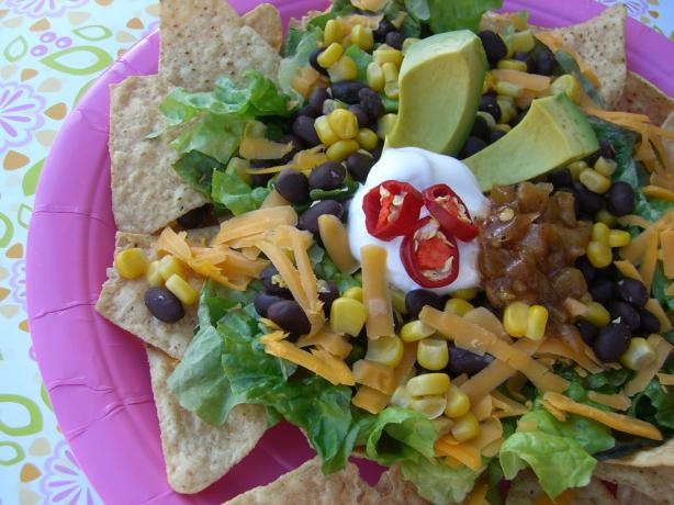 Taco and Black Bean Salad