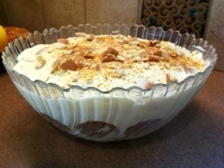 Aunt Evelyn's Easy Creamy Banana Pudding (Low-Sugar Low-Fat)