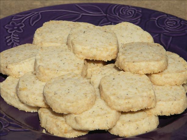 Barefoot Contessa's Parmesan Black Pepper Crackers -Ina Garten