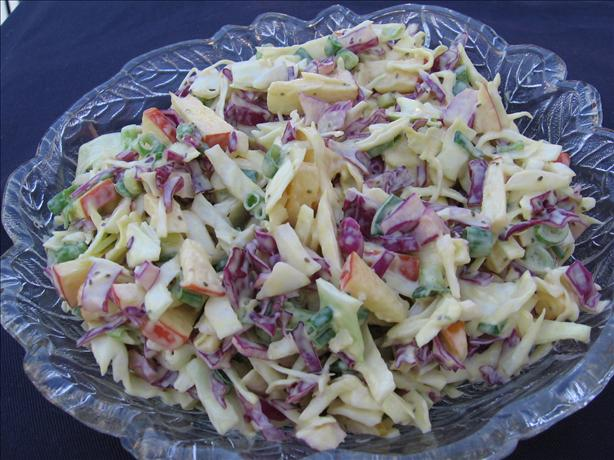 Lemon-Apple Coleslaw