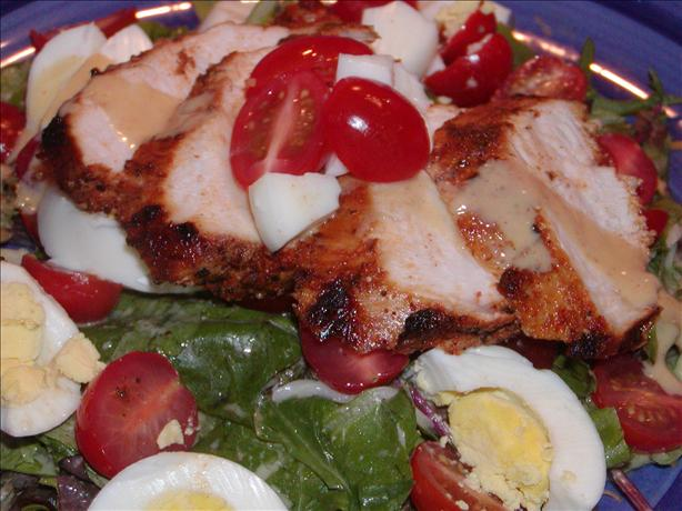 Applebee's Low-Fat Blackened Chicken Salad