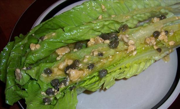 Hearts of Romaine With Blue Cheese Dijon Dressing