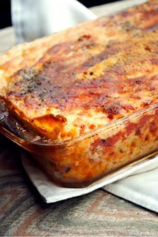 Turkey Pastitsio-Low Fat!