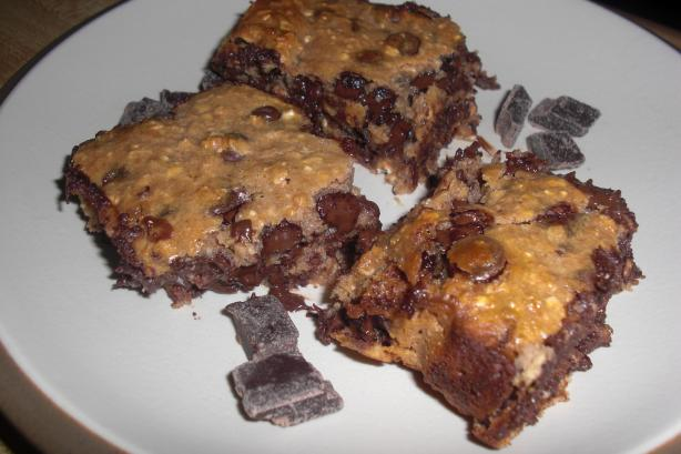 Super Easy Chocolate Chip Brownies
