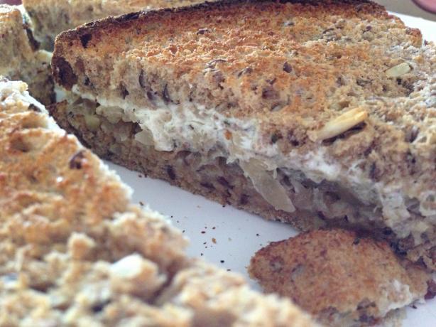 Spelt, Kraut & Cream Cheese Sandwich