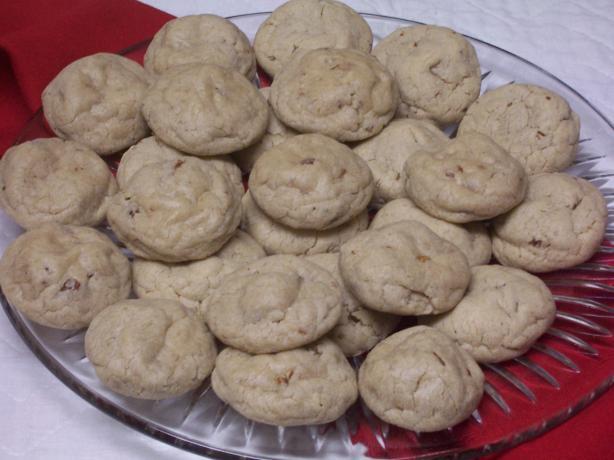 Pecan Sandies - Cake Mix Cookies