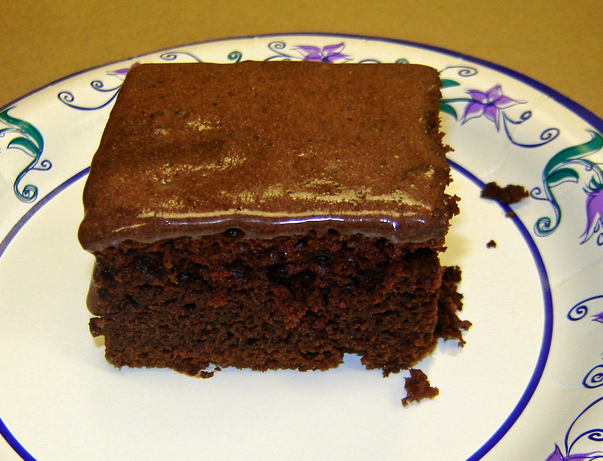 Low Fat Chocolate Kahlua Cake