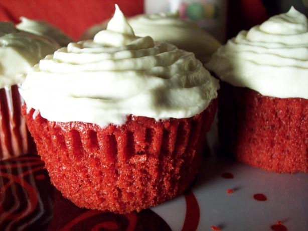 Easy Red Velvet Cupcakes or Cake