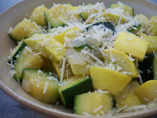 Simple Skillet Zucchini Squash
