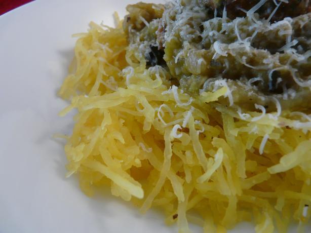 Simple Spaghetti Squash Parmesan