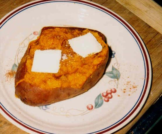 Twice-Baked Sweet Potato (For One)