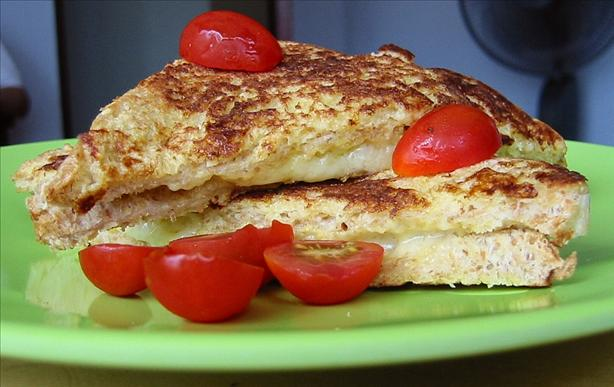 French Toast Cheddar Sandwiches