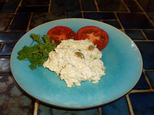 Kittencal's Deli-Style Egg and Olive Salad