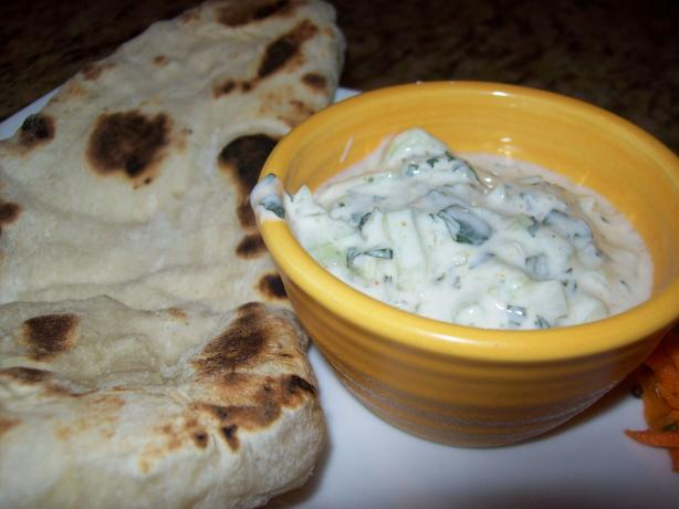 Cooling Mint Cucumber Raita