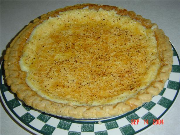 Mom's Old Fashioned Cream Pie