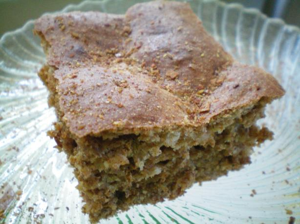 Extreme Low-Fat Buttermilk-Bran Breakfast Squares