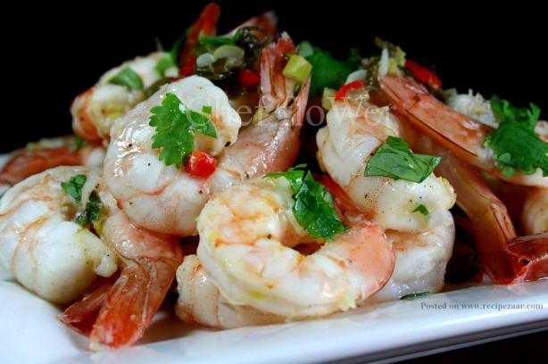 Marinated Prawns (Shrimp) for the BBQ / Grill