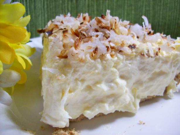 Really Easy and Good Coconut Cream Pie