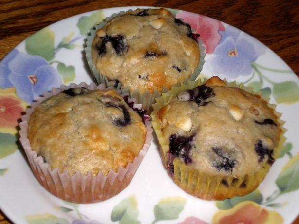 Blueberry White Chip Muffins