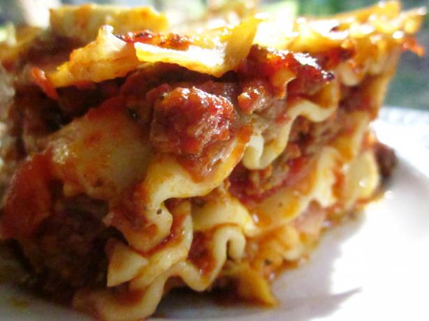 Italian-Style Lasagna