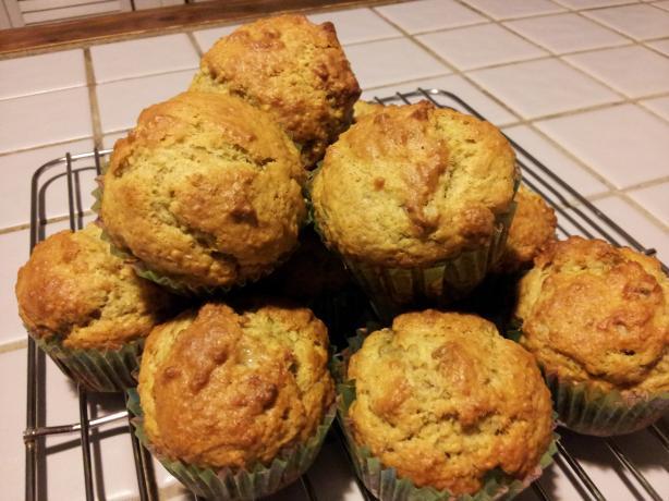 Vegan Banana-Nut Muffins