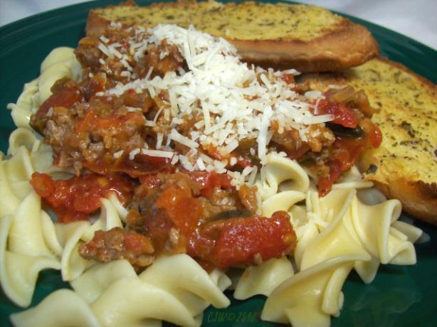Simple Italian Sausage Pasta Sauce