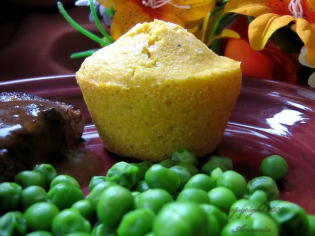 Spiced Corn Muffins