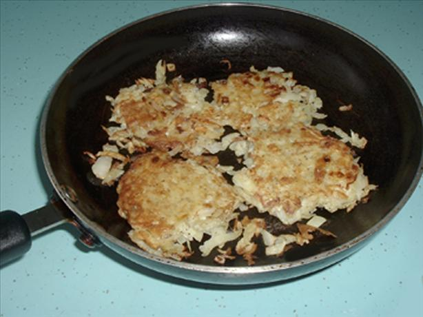 Hash Browns (Patties - Low Sodium) Homemade
