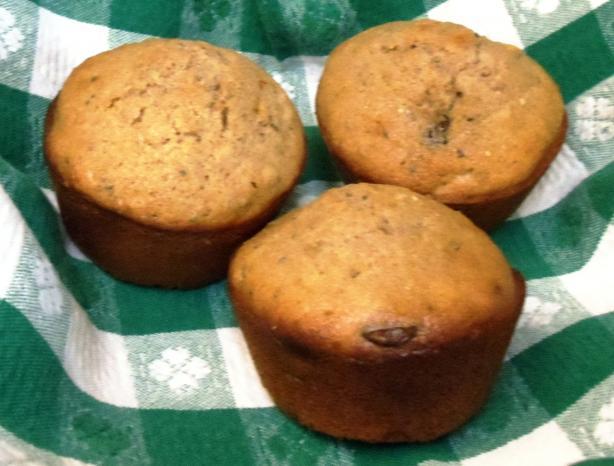 Whole Wheat Chocolate Chip Muffins