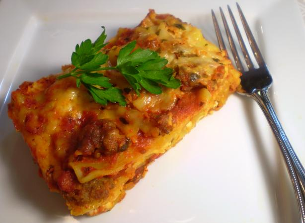 Our Favorite No Boil Lasagna