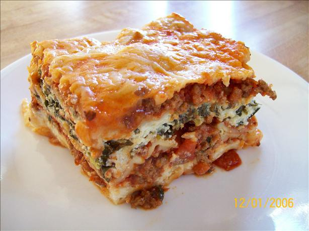 Our Perfectly Easy Lasagna