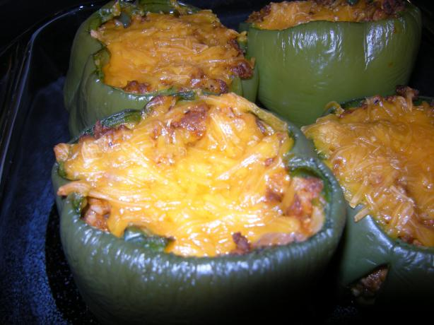 Our Favorite Stuffed Green Peppers