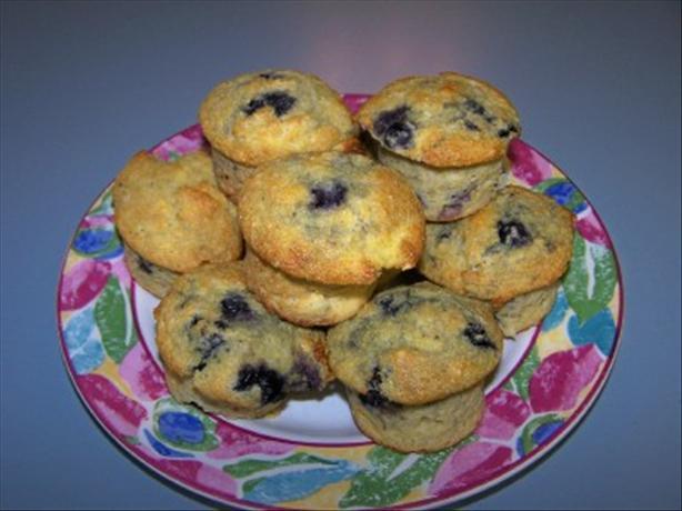 Apple-Blueberry Corn Muffins