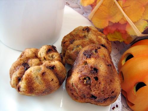 Banana Chocolate Chip Muffins (Light)