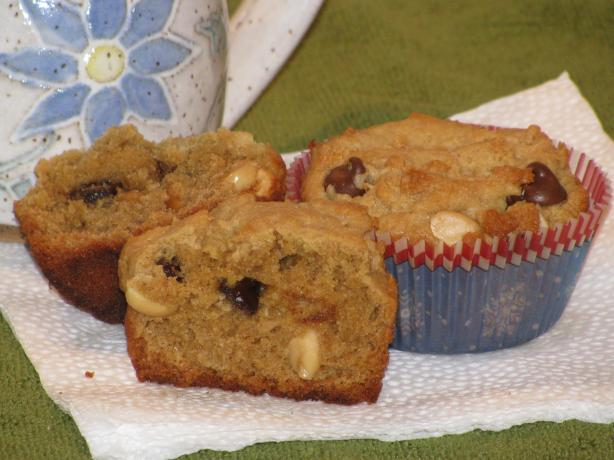 Oh so Yummy Peanut Butter Chocolate Chip Muffins