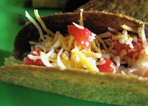 Easy Chicken Tacos (Low Fat if You Choose Soft Shell over Hard)