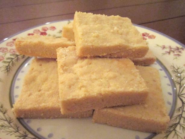 Super-Easy Shortbread (3 Ingredients)