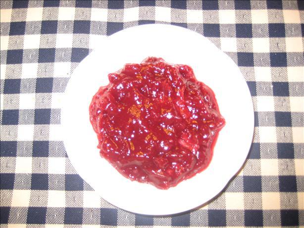 Cranberry-Bourbon Sauce