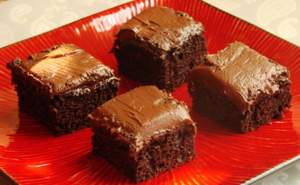 Chocolate Frosting for Zucchini Brownies