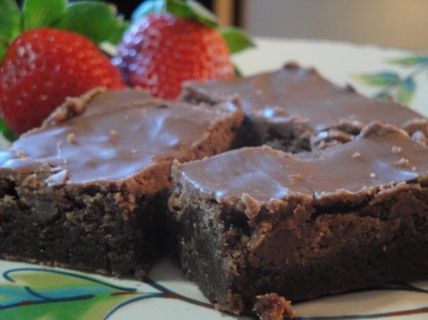 Easy Milk Chocolate Frosting for Brownies