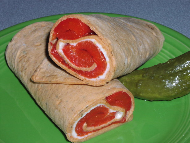 Low Fat Italian Chili Rellenos Wrap