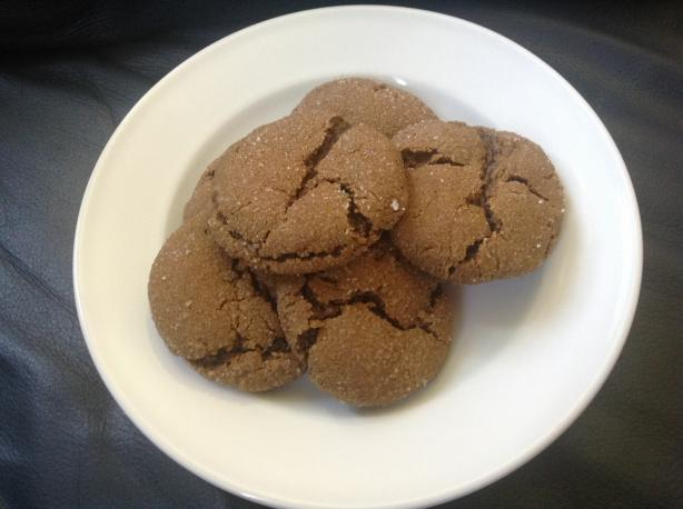 The Best Soft Ginger Cookies