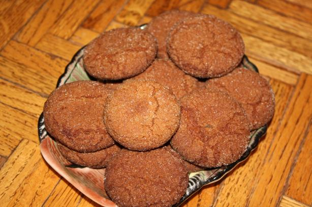 Mustard and Ginger Cookies
