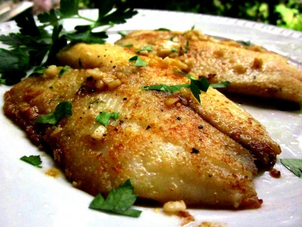 Pan Fried Tilapia from Sandra Lee
