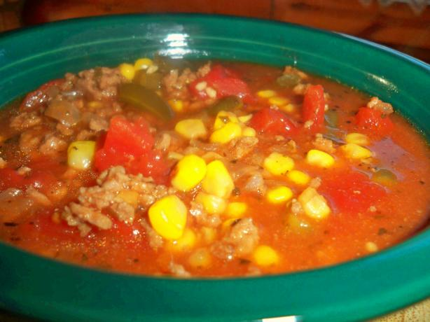 Crock Pot Easy Vegetable-Beef Soup