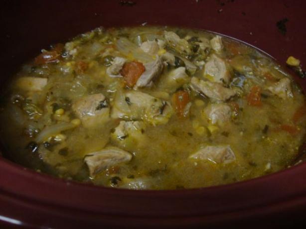 Pork Stew for the Crock Pot