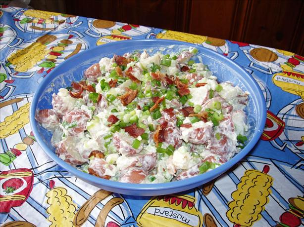 Scallion and Bacon Potato Salad