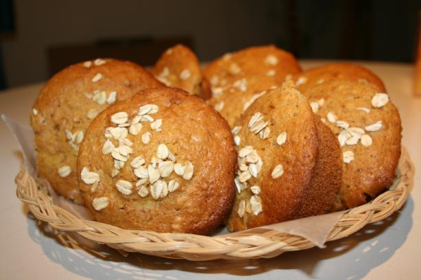 Red River Oat Bran Muffins