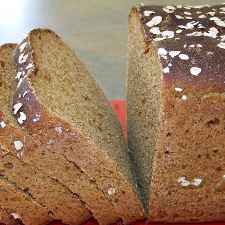 Oatmeal Spelt Brown Bread