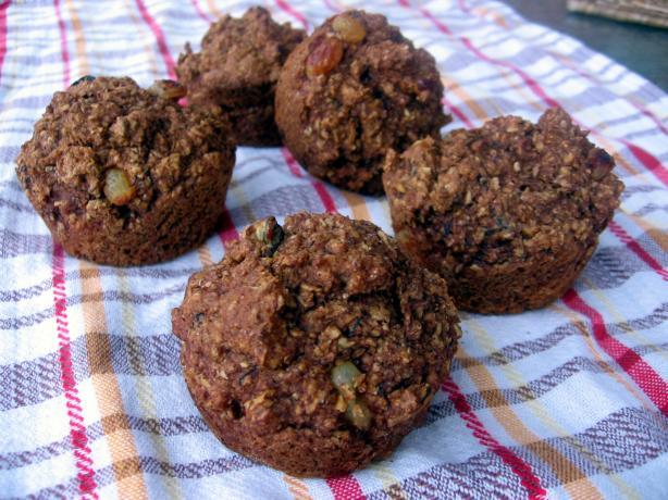 High Fiber Low Calorie Bran Muffins
